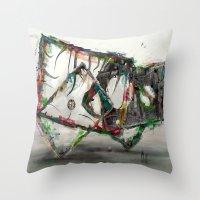 Zeitlose Kunst Throw Pillow