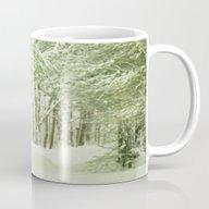 Winter Pine Trees Mug