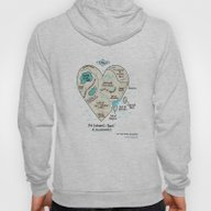 A Map Of The Introvert's… Hoody