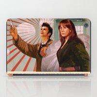 Doctor Who Propaganda Po… iPad Case