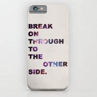 iPhone & iPod Case featuring Break On Through by Fimbis