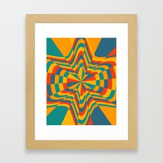 Trippy Framed Art Print