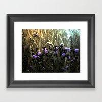 Hidden Fields Framed Art Print