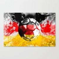 football germany Canvas Print