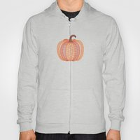 Patterned Pumpkin Hoody