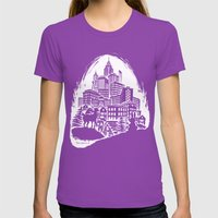 You Can't Stop Progress Womens Fitted Tee Ultraviolet SMALL