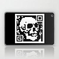 QR- Dead Laptop & iPad Skin