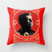 Walter Bishop - Fringe Science (RED) Throw Pillow