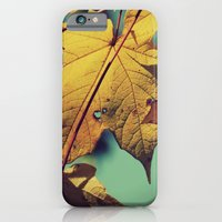 iPhone & iPod Case featuring Tattered Leaves by Leah M. Gunther Photography & Design