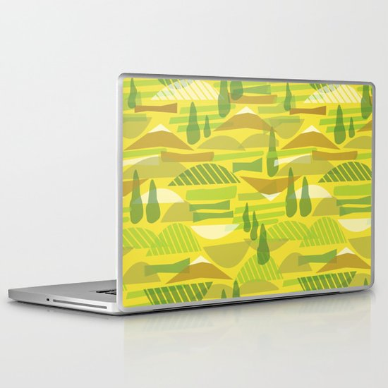 Italian Countryside Laptop & iPad Skin