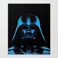 The Dark Vader, Star Wars Tribute Canvas Print