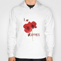 FLOWERS - Poppy heaven Hoody
