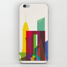Shapes of Mexico City accurate to scale iPhone & iPod Skin