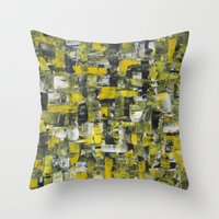 Beehive Rave Throw Pillow