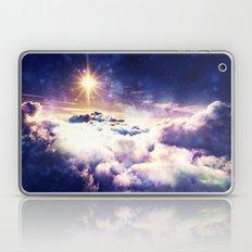 Heavenly Galaxy Clouds Laptop & iPad Skin