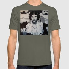 THE PRINCESS  Mens Fitted Tee Lieutenant SMALL