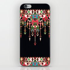 Modern Deco in Red and Black iPhone & iPod Skin
