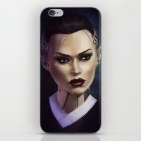 Mass Effect: Jack iPhone & iPod Skin