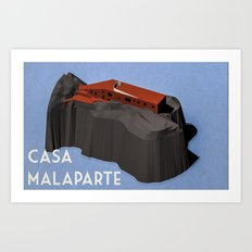 Casa Malaparte Art Print