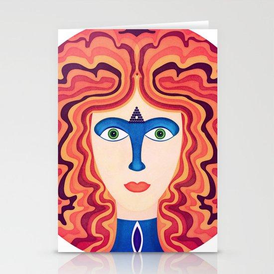 Blue Nose Stationery Card