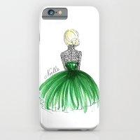 Emerald Dress iPhone 6 Slim Case