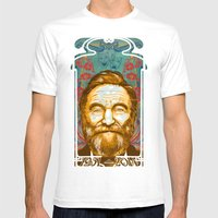 Robin Williams Tribute A… Mens Fitted Tee White SMALL