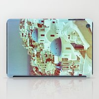 Santorini in Raspberry and Blue: shot using Revolog 600nm special effects film iPad Case