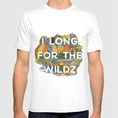 The Wildz White Mens Fitted Tee SMALL