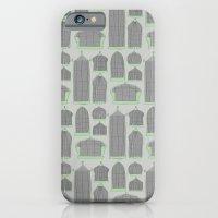 Birdcages (Gray) iPhone 6 Slim Case