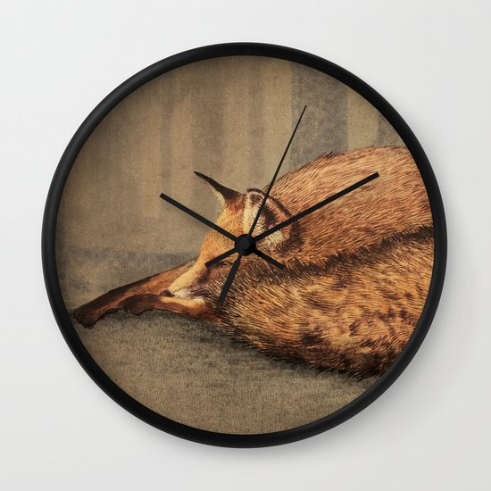 A Quiet Place Wall Clock