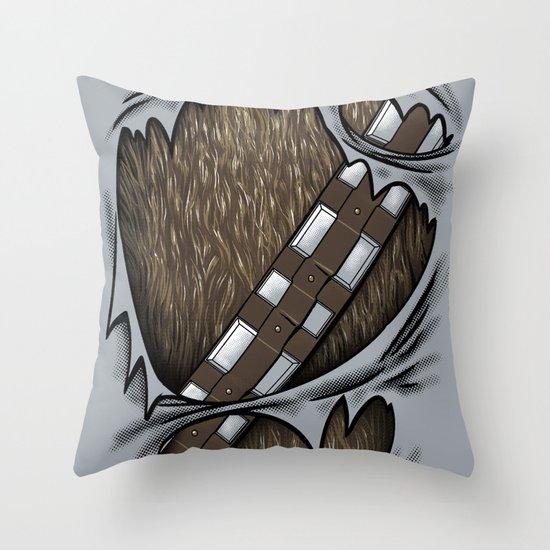 Co-Pilot Uniform Throw Pillow