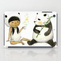 Tea Time With Panda  iPad Case
