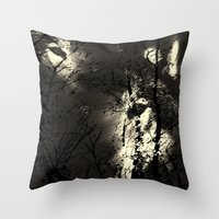 The Forest Of The Wolves Throw Pillow