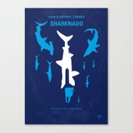 No216 My Sharknado Minim… Canvas Print