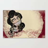 Moneyslave Canvas Print