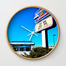 Best Burgers Drive-In Wall Clock