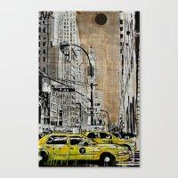 5th Ave Canvas Print