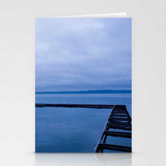 Blue Lake Stationery Card