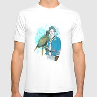 Wisdom 2 Mens Fitted Tee White SMALL