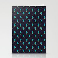 Live Fast blue Stationery Cards