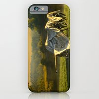 iPhone & iPod Case featuring Civil War canon and limber in the early morning mist. by Wood-n-Images
