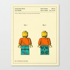 TOY FIGURE Canvas Print