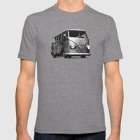 Dak Dak Mens Fitted Tee Tri-Grey SMALL