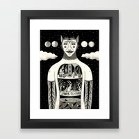 Under Skin Framed Art Print