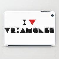 I V TRIANGLES iPad Case