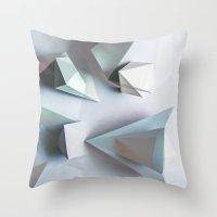 Origami #1 Throw Pillow