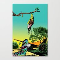 Cannot be done by proxy Canvas Print