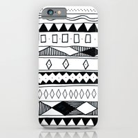 Rivers & Robots Pattern iPhone 6 Slim Case