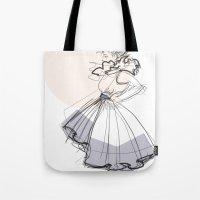 Poofy Dress Tote Bag