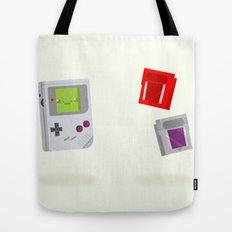 Gameboy & Games Tote Bag